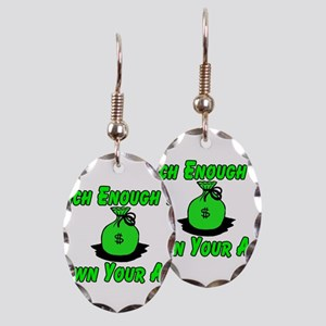 Rich Enough Earring Oval Charm