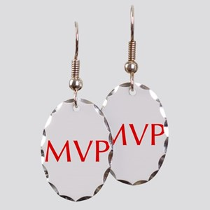MVP-Opt red Earring