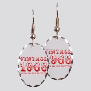 VINTAGE 1968 aged to perfection-red 400 Earring