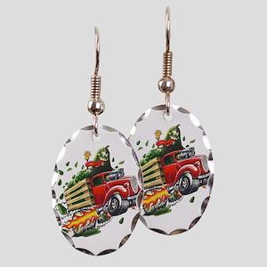 Avo Truckin Earring Oval Charm