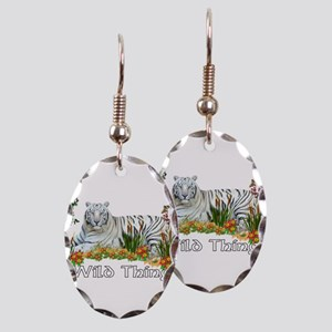 Wild Thing Earring Oval Charm