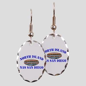 North Island Earring Oval Charm