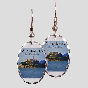 Alcatraz Island San Francisco Earring