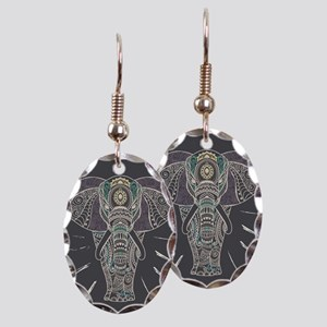 Indian Elephant Earring