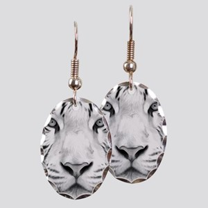 Realistic Tiger Painting Earring
