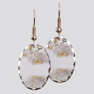 Orchids Reflection Earring