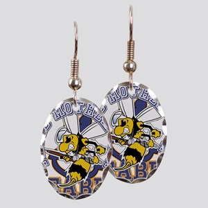 SeaBee Mother t-shirt Earring Oval Charm