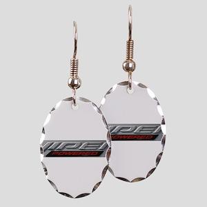Viper Earring Oval Charm