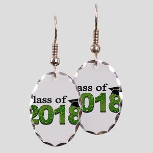Class of 2018 Glitter Earring