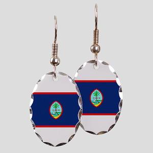 Guamblank Earring Oval Charm