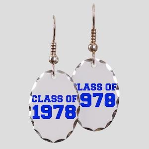CLASS OF 1978-Fre blue 300 Earring