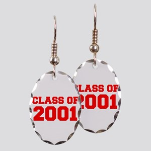 CLASS OF 2001-Fre red 300 Earring