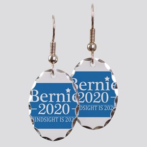 Bernie Sanders Hindsight is 202 Earring Oval Charm