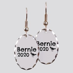 Bernie! Earring Oval Charm