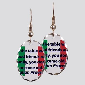 At The Table With Good Friends Earring