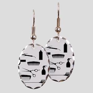Salon Tools Earring Oval Charm