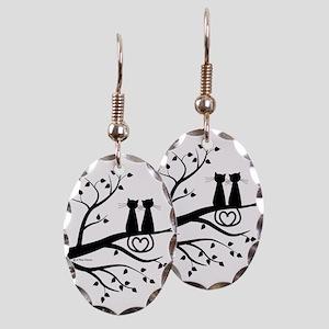 Love Earring Oval Charm