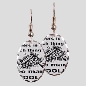 HANDY MAN/MR. FIX IT Earring Oval Charm
