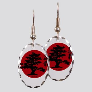 Bonsai Earring Oval Charm