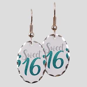 Birthday Earring Oval Charm