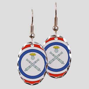 BR 211 Earring Oval Charm