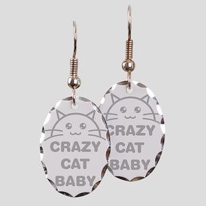 Crazy Cat Baby Earring
