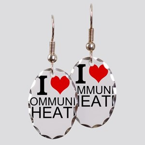 I Love Community Theater Earring