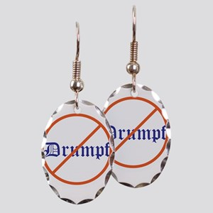 Anti Trump! No Drumpf Earring