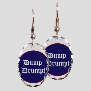 Dump Drumpf, anti Trump Earring