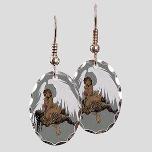 OhRiginal Destroyer Earring Oval Charm