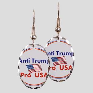Anti Trump, Pro USA Earring