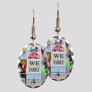 Custom Family Photo Collage Earring