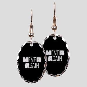 NeveR Again Earring Oval Charm