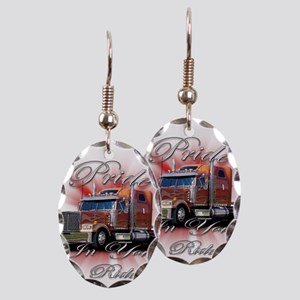 Pride In Ride 2 Earring Oval Charm