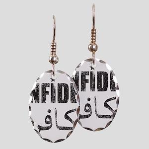 Original Infidel Earring Oval Charm