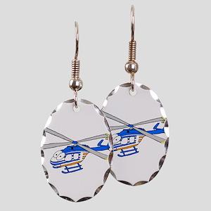 EMS 5 Earring Oval Charm