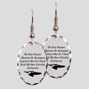 Build My Own Enterprise Earring Oval Charm
