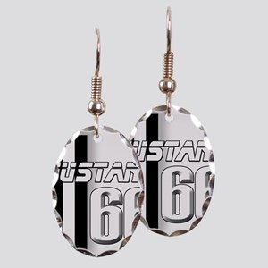 Mustang 66 Earring Oval Charm