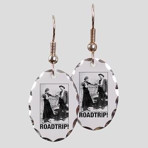 ROADTRIP! Earring Oval Charm