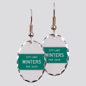 Winters, Texas City Limits Earring