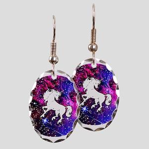 Unicorn in Space Earring