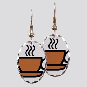 Hot Cup of Coffee Earring