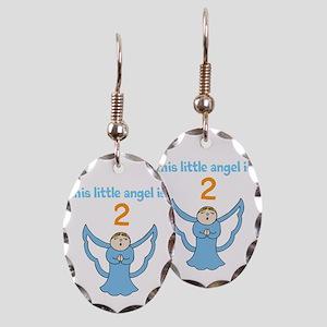 little angel custom age Earring Oval Charm