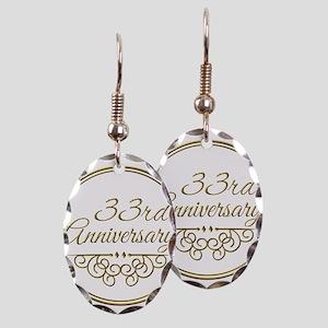 33rd Anniversary Earring