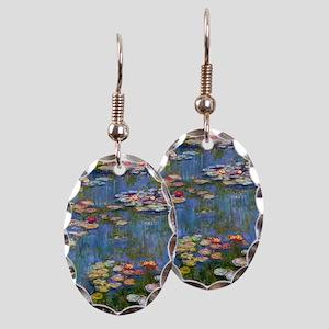 Monet Water lilies Earring