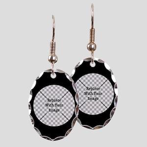 Customizable Black Earring