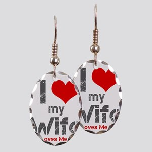 I Love My Wife Earring