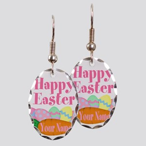 Happy Easter Carrot and Eggs Earring