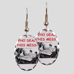 funny bridge joke on gifts and t-shirts Earring