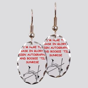 sports joke Earring